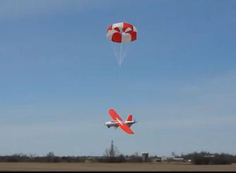 Talon-parachuting