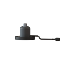 Magnetic Antenna Mounting Kit N(f) Connector