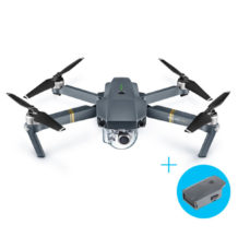DJI Mavic PRO with 1 Extra Battery Kit