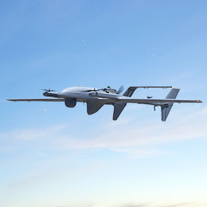 HQ-90C Hybrid Quadrotor - Unmanned Systems Source